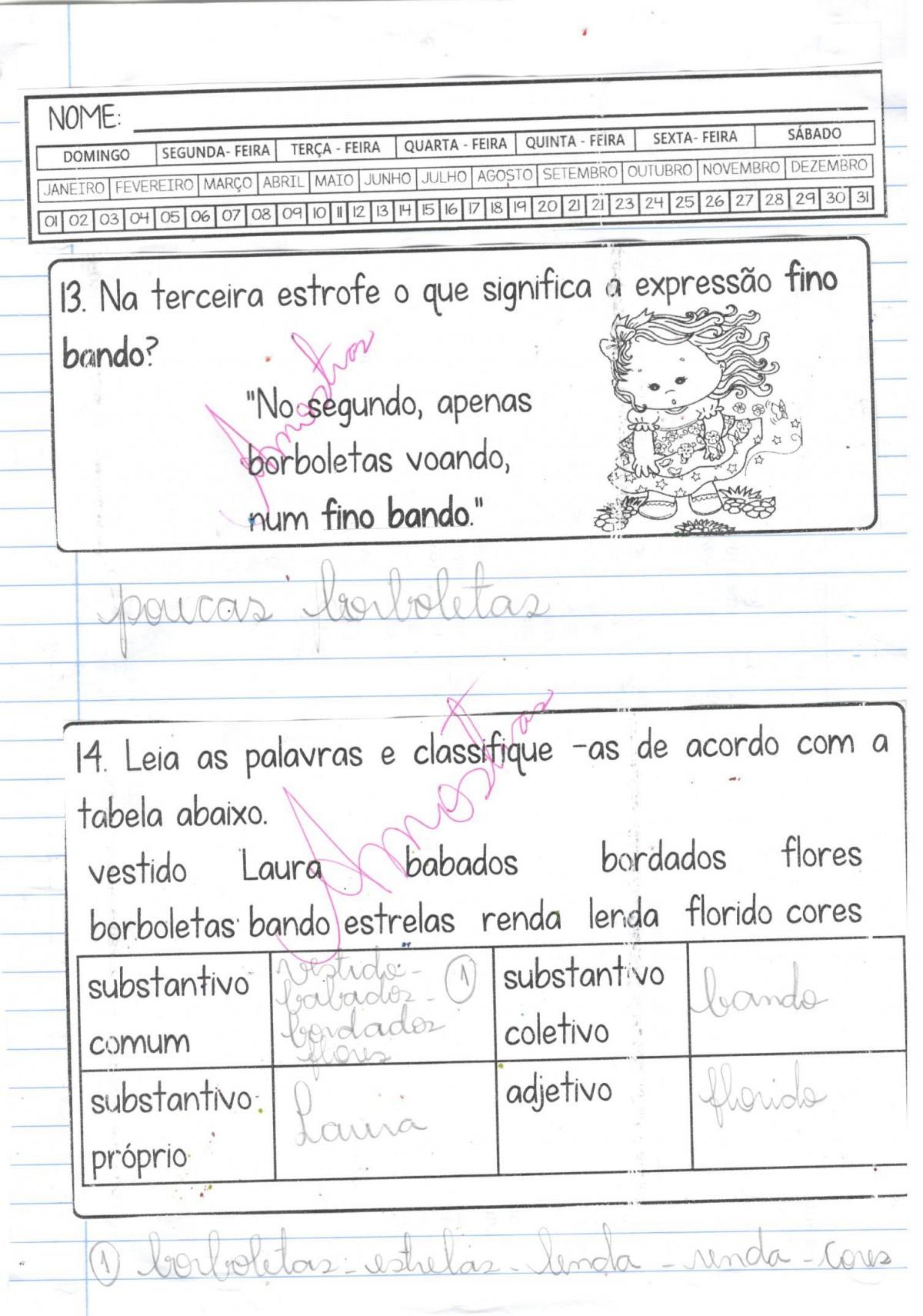 Foto5 - Caderninho BNCC O vestido de Laura 2º e 3º anos