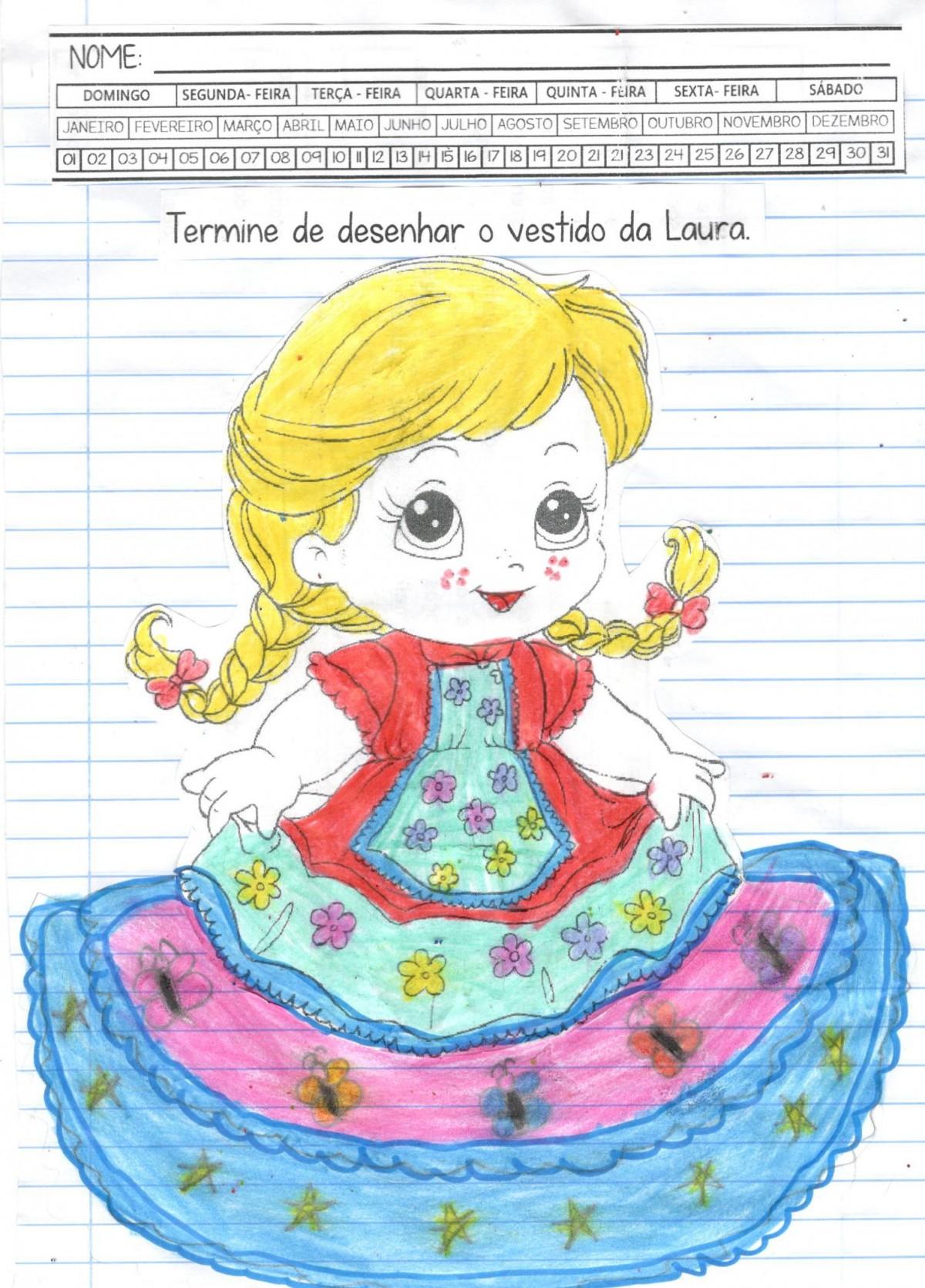 Foto8 - Caderninho BNCC O vestido de Laura 2º e 3º anos