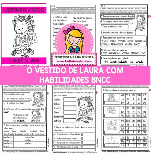Imagem do produto Caderninho BNCC O vestido de Laura 2º e 3º anos