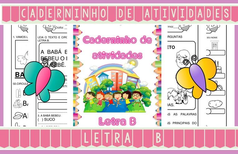 Foto 1 - Caderninho de Atividades Letra B