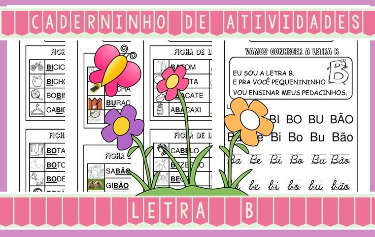 Foto2 - Caderninho de Atividades Letra B