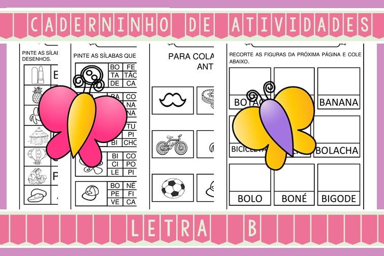 Foto3 - Caderninho de Atividades Letra B
