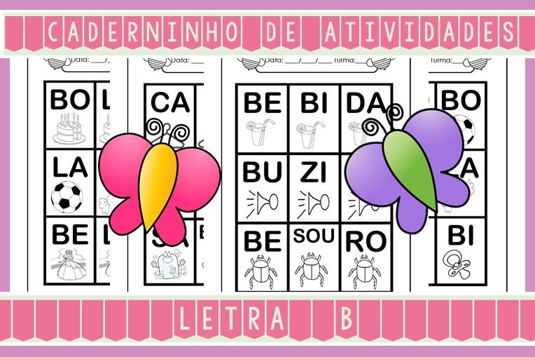 Foto5 - Caderninho de Atividades Letra B