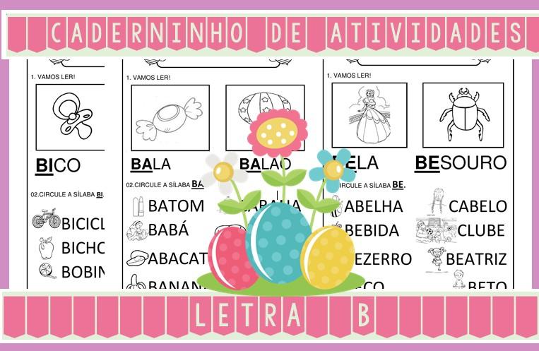 Foto7 - Caderninho de Atividades Letra B
