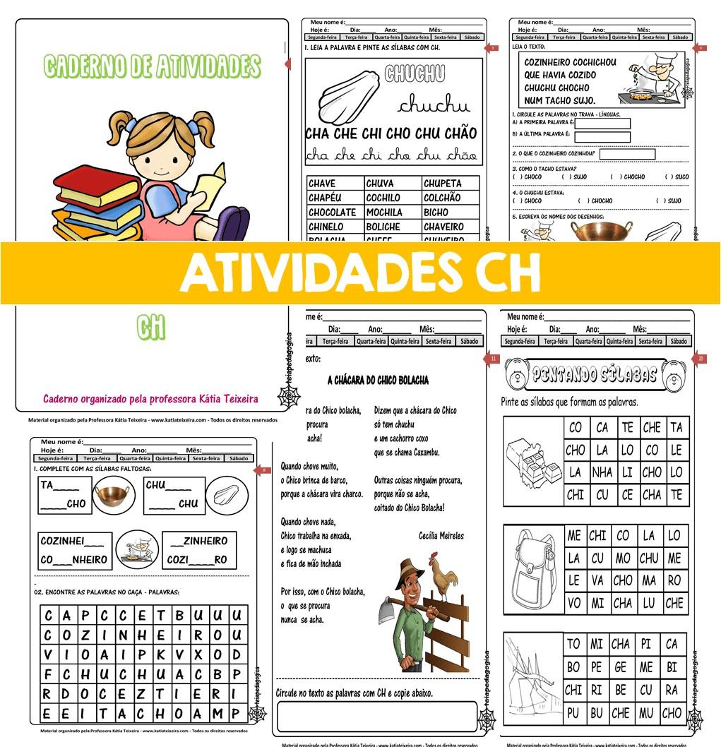 Imagem do produto Caderno de atividades CH com 41 páginas
