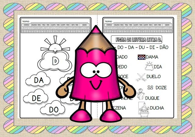 Foto2 - Caderno de atividades letra D