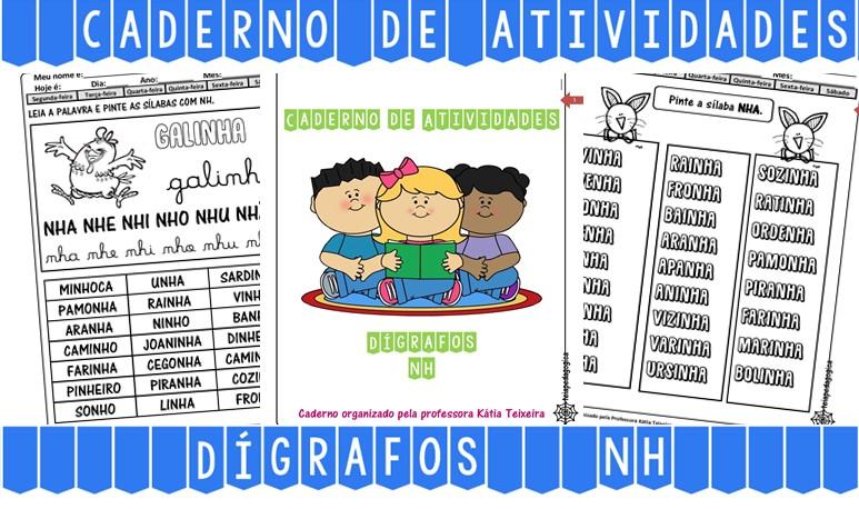 Foto 1 - Caderno de Atividades NH com 38 páginas em PDF.