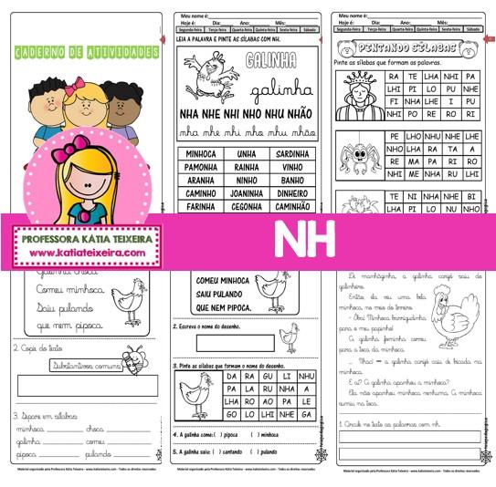 Imagem do produto Caderno de Atividades NH com 38 páginas em PDF.