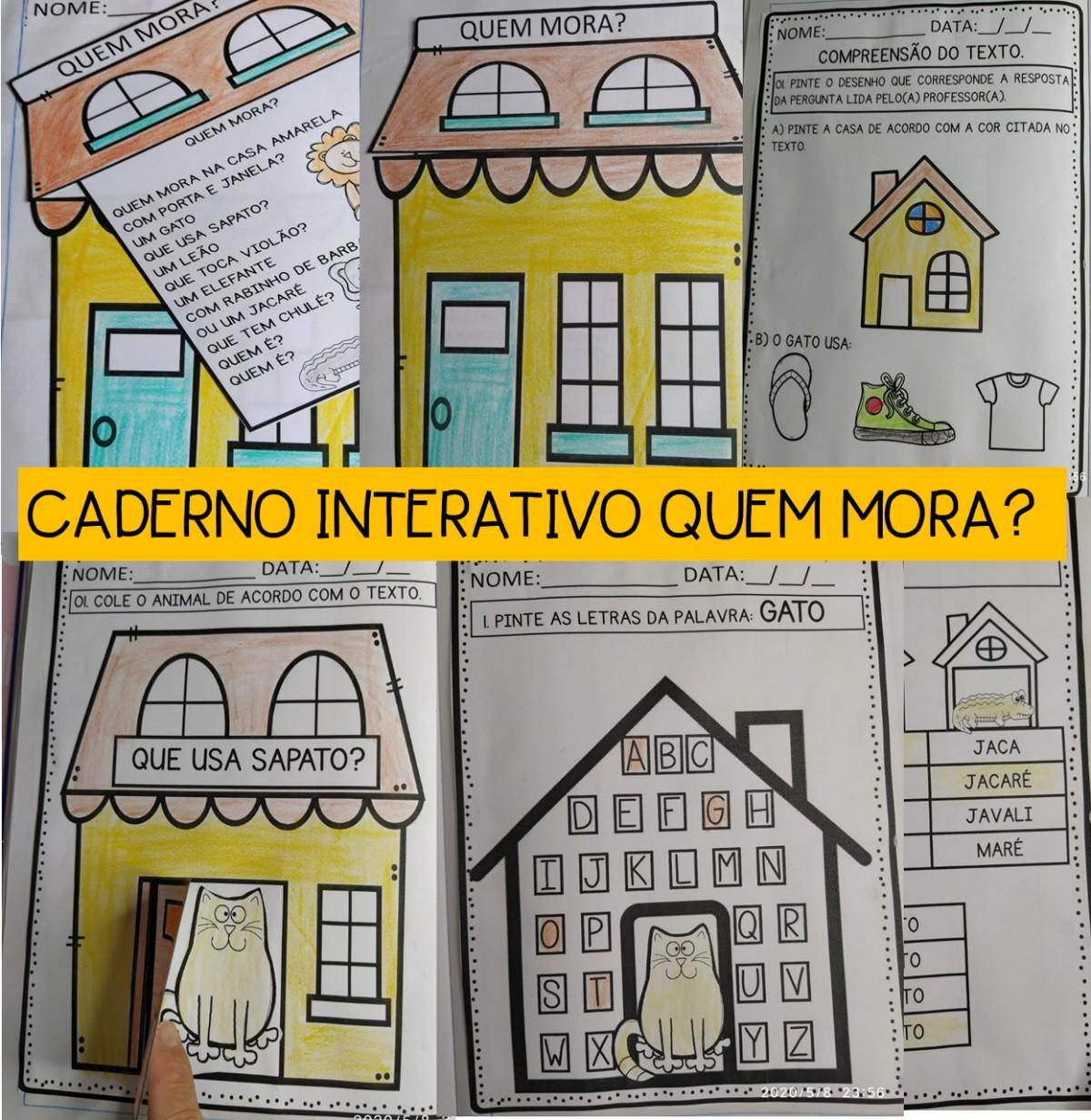 Imagem do produto Caderno de atividades para a educação infantil