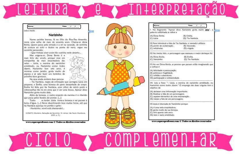 Foto2 - Caderno de Leitura e Interpretação 4° e 5° anos