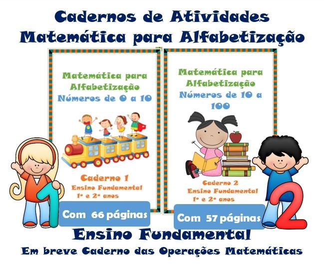 Foto 1 - Cadernos de Atividades Matemática para Alfabetização Números de 0 a 100