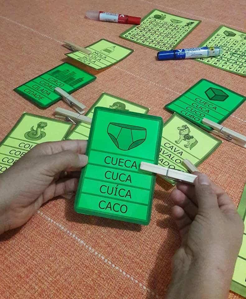 Foto 1 - Jogos Letra C. Anexo caderno letra C