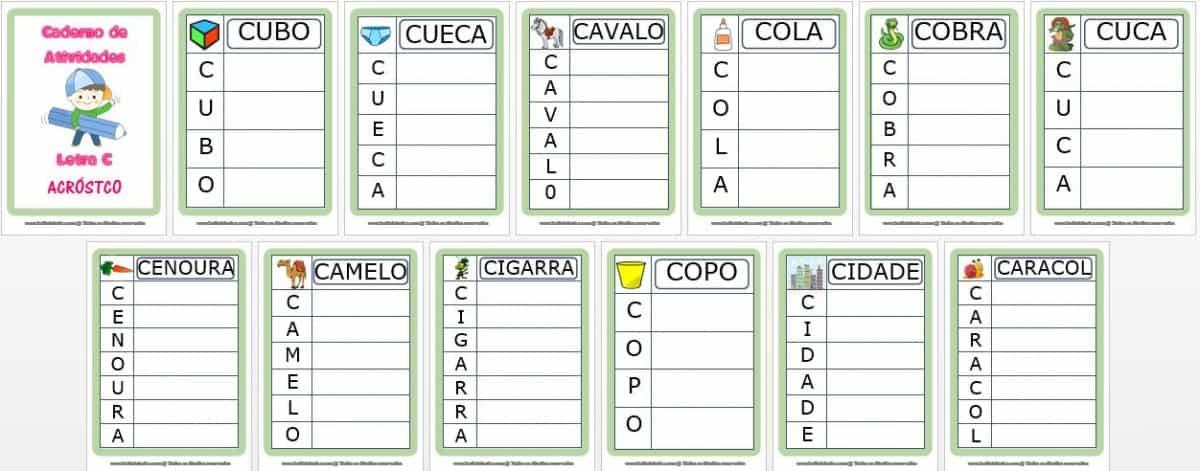 Foto6 - Jogos Letra C. Anexo caderno letra C