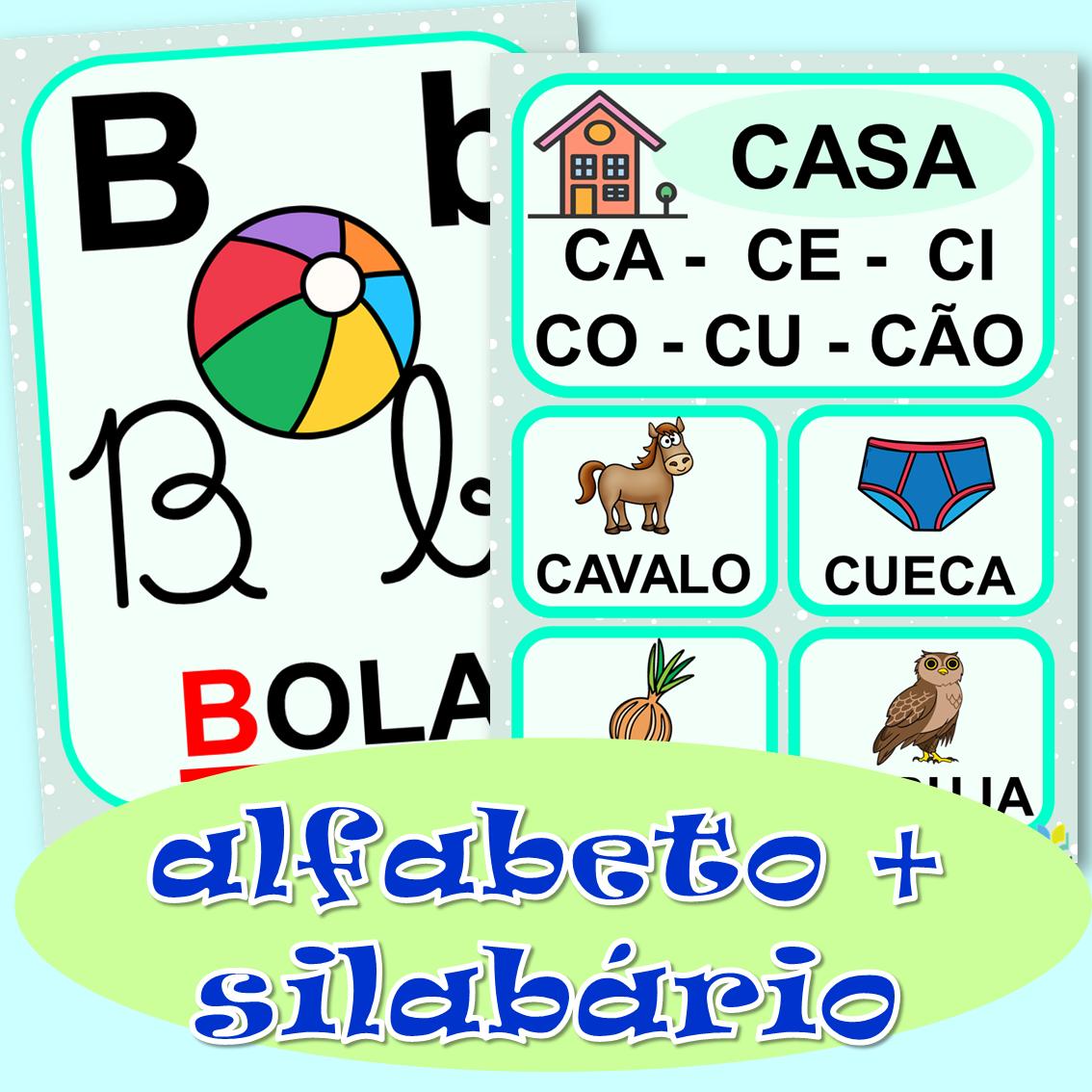 Imagem do produto Kit digital alfabeto + silabário Coleção Clube das Letrinhas