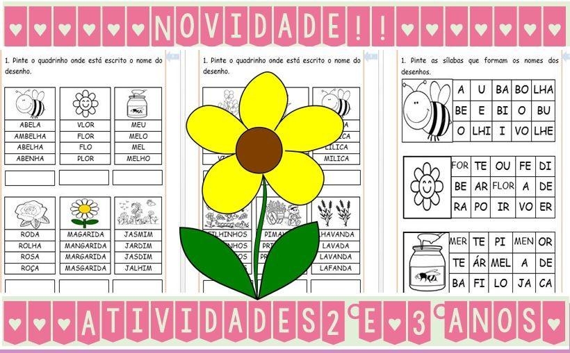 Foto2 - Leitura e interpretação de textos, atividades de alfabetização