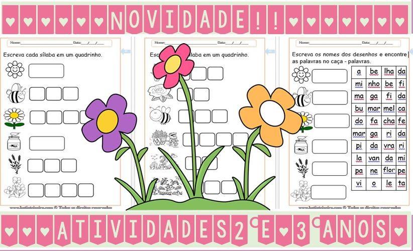 Foto3 - Leitura e interpretação de textos, atividades de alfabetização