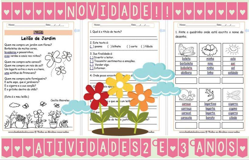 Foto5 - Leitura e interpretação de textos, atividades de alfabetização
