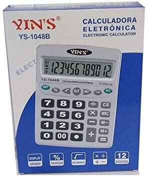 Foto 1 - Calculadora Eletrônica 12 Dígitos