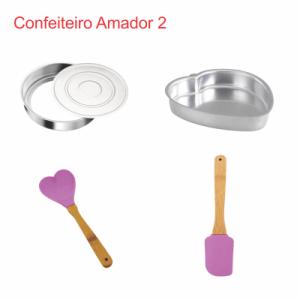 Foto1 - Combo Confeiteiro Amador 2