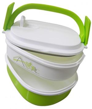 Imagem do produto Marmita com dois compartimentos