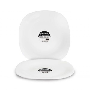 Imagem do produto Prato Branco Quadrado Premium