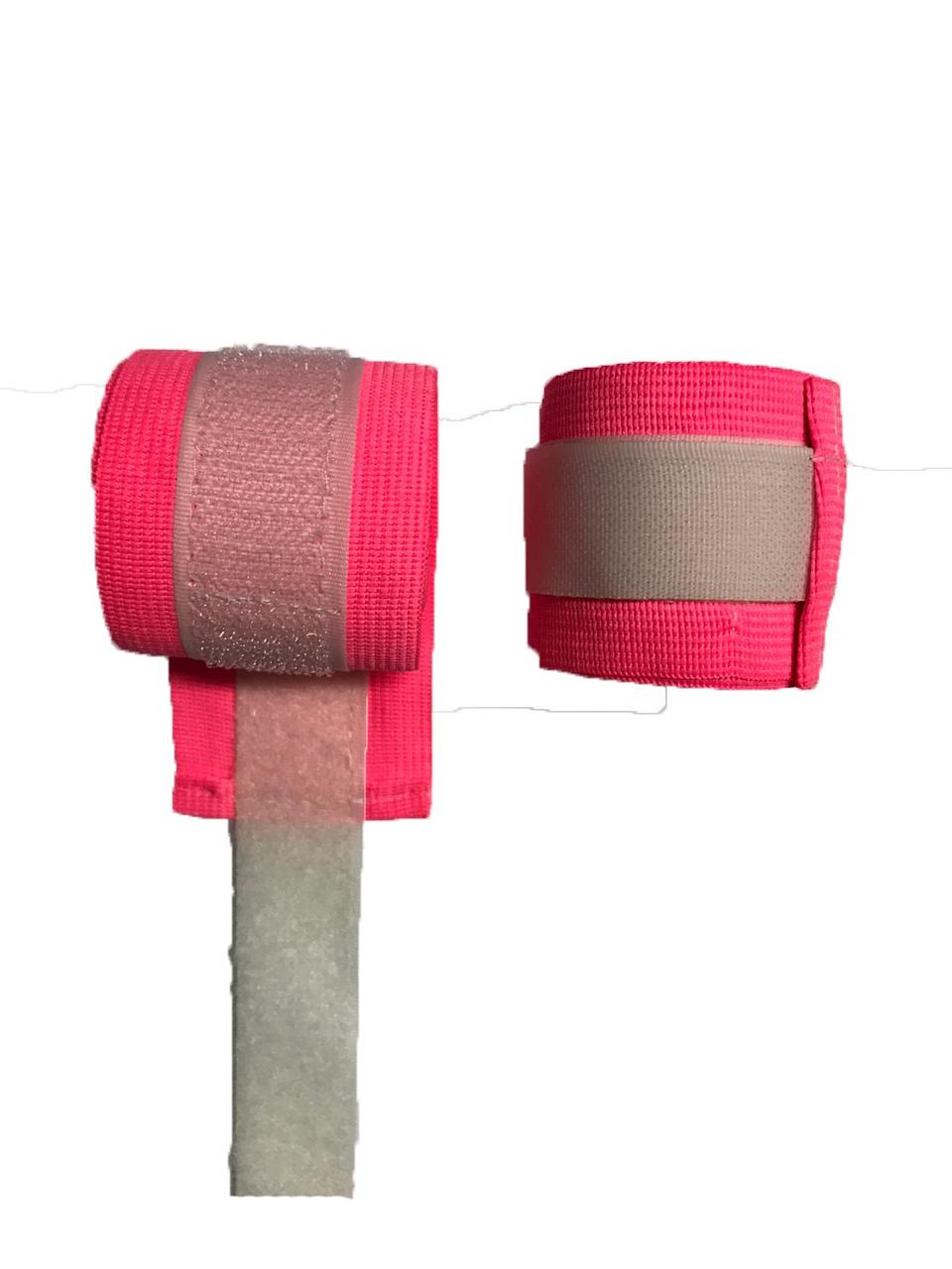 Foto 1 - Bandagem 2m Digital Esportes Para Artes Marciais Rosa