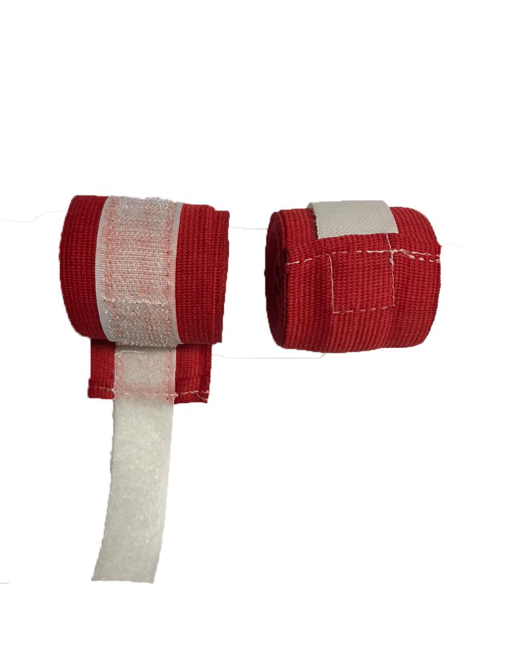 Foto 1 - Bandagem 3m Digital Esportes Para artes marciais Vermelha