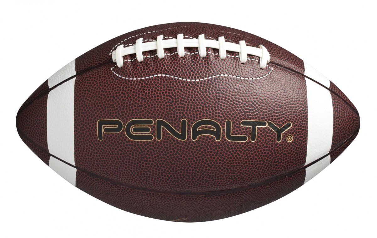 Foto 1 - Bola Penalty Futebol Americano Marron