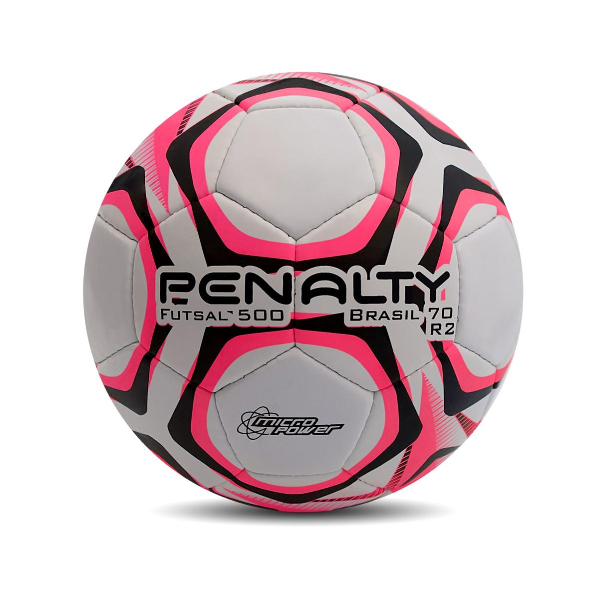Foto 1 - Bola Penalty Campo Brasil 70 R2 Rosa Original