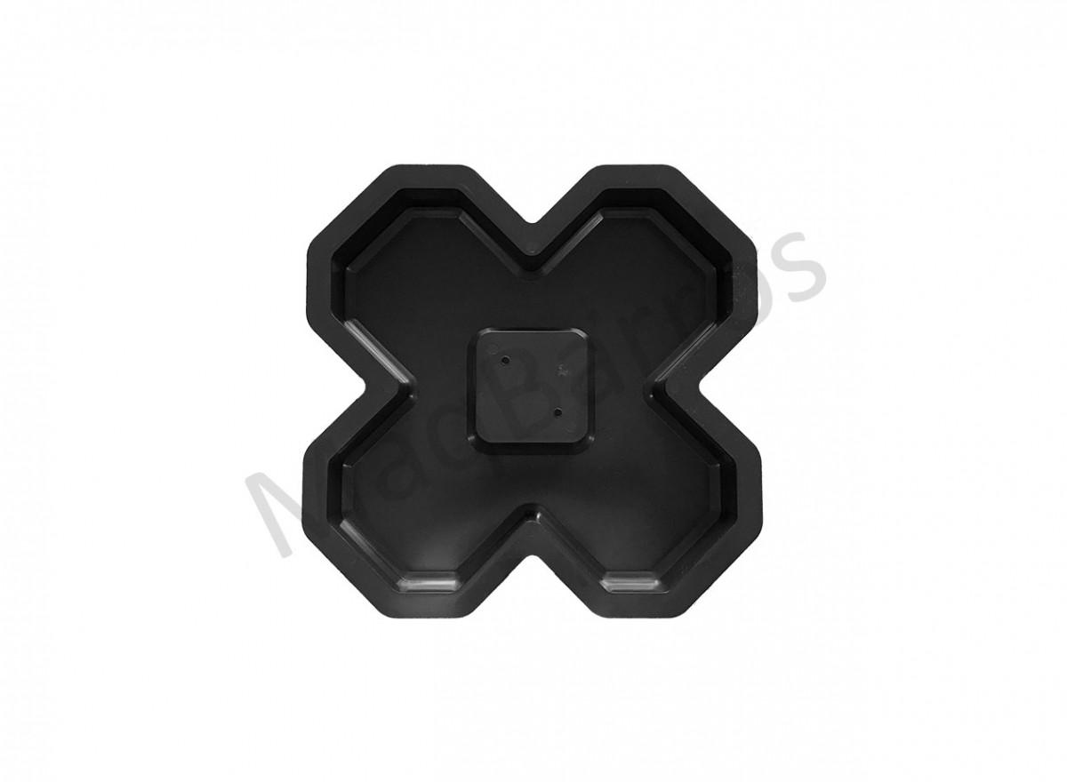 Foto 1 - Concregrama X - 4 pontas