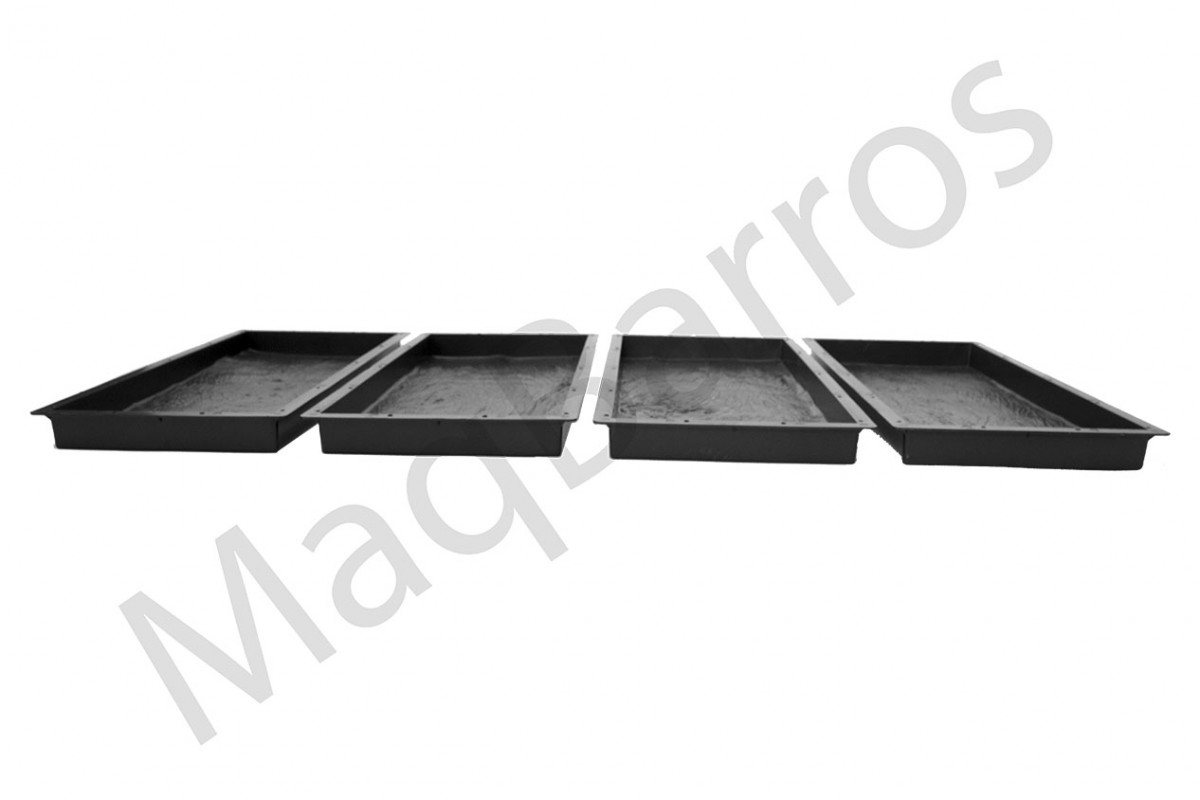 Foto2 - Conjunto tábua de concreto - (Embalagem com 04 un.)