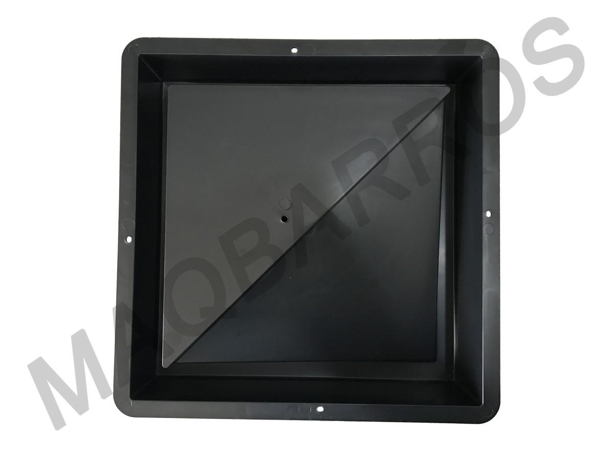 Foto 1 - Elemento vazado triângulo - (Embalagem com 10 un.)