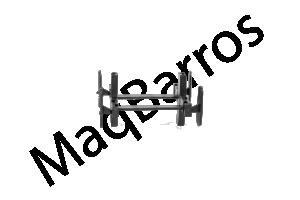 Foto2 - Espaçador para parede elemento vazado - (Embalagem com 100 un.)