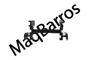 Foto1 - Espaçador para parede elemento vazado - (Embalagem com 100 un.)