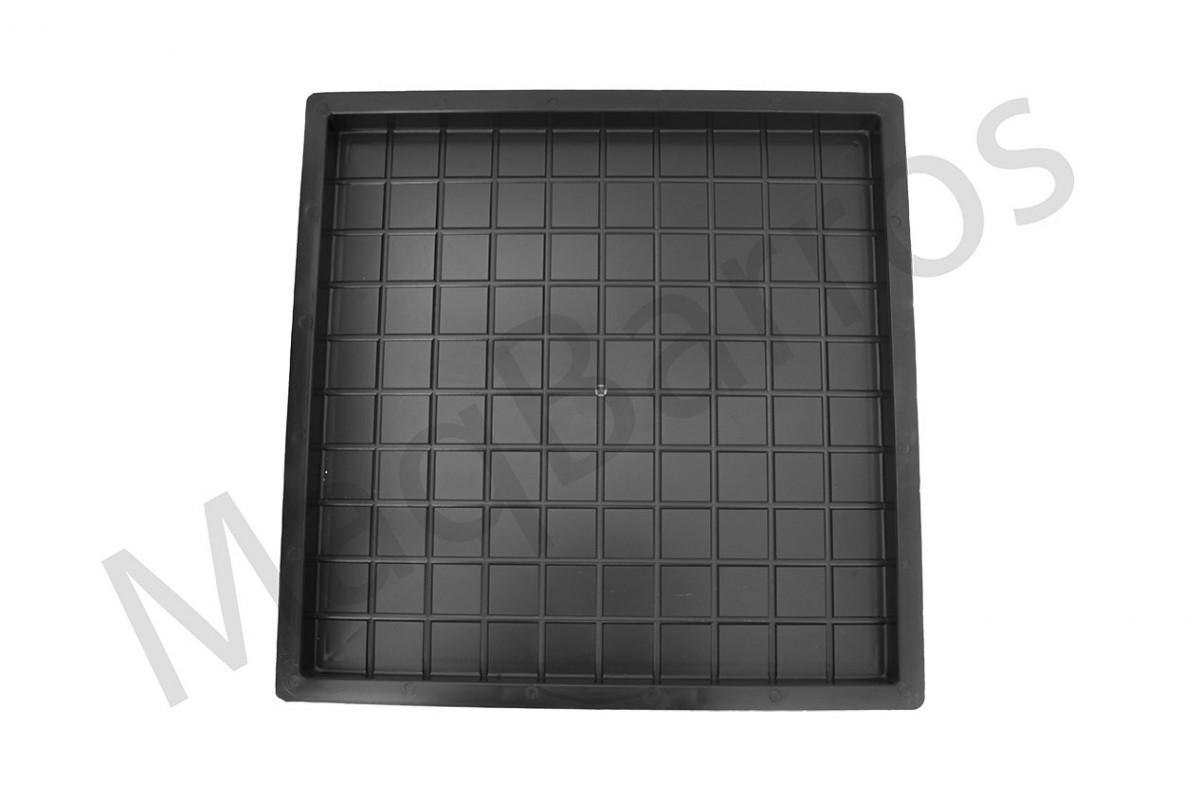 Foto 1 - Ladrilho xadrez 100 quadros - (Embalagem com 10 un.)