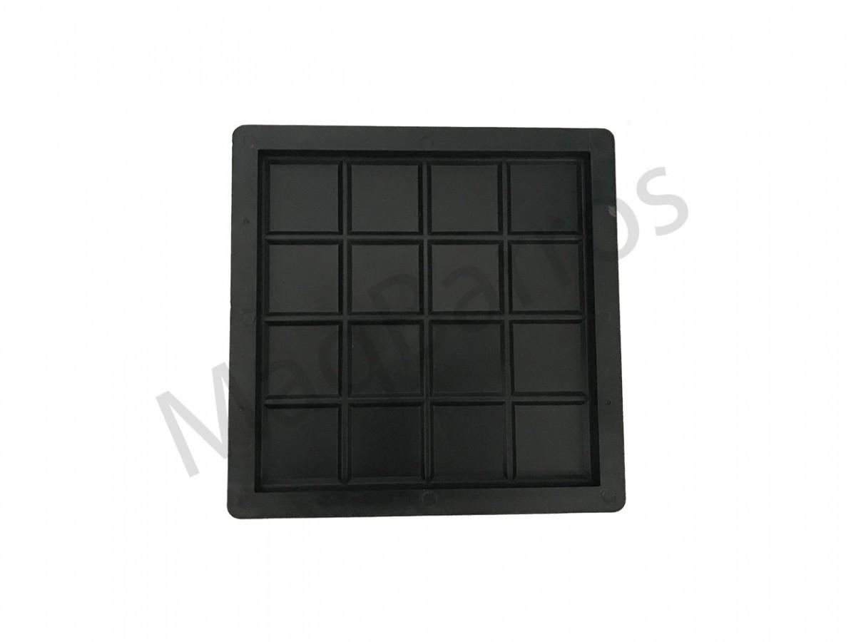 Foto 1 - Ladrilho xadrez 16 quadros - (Embalagem com 20 un.)