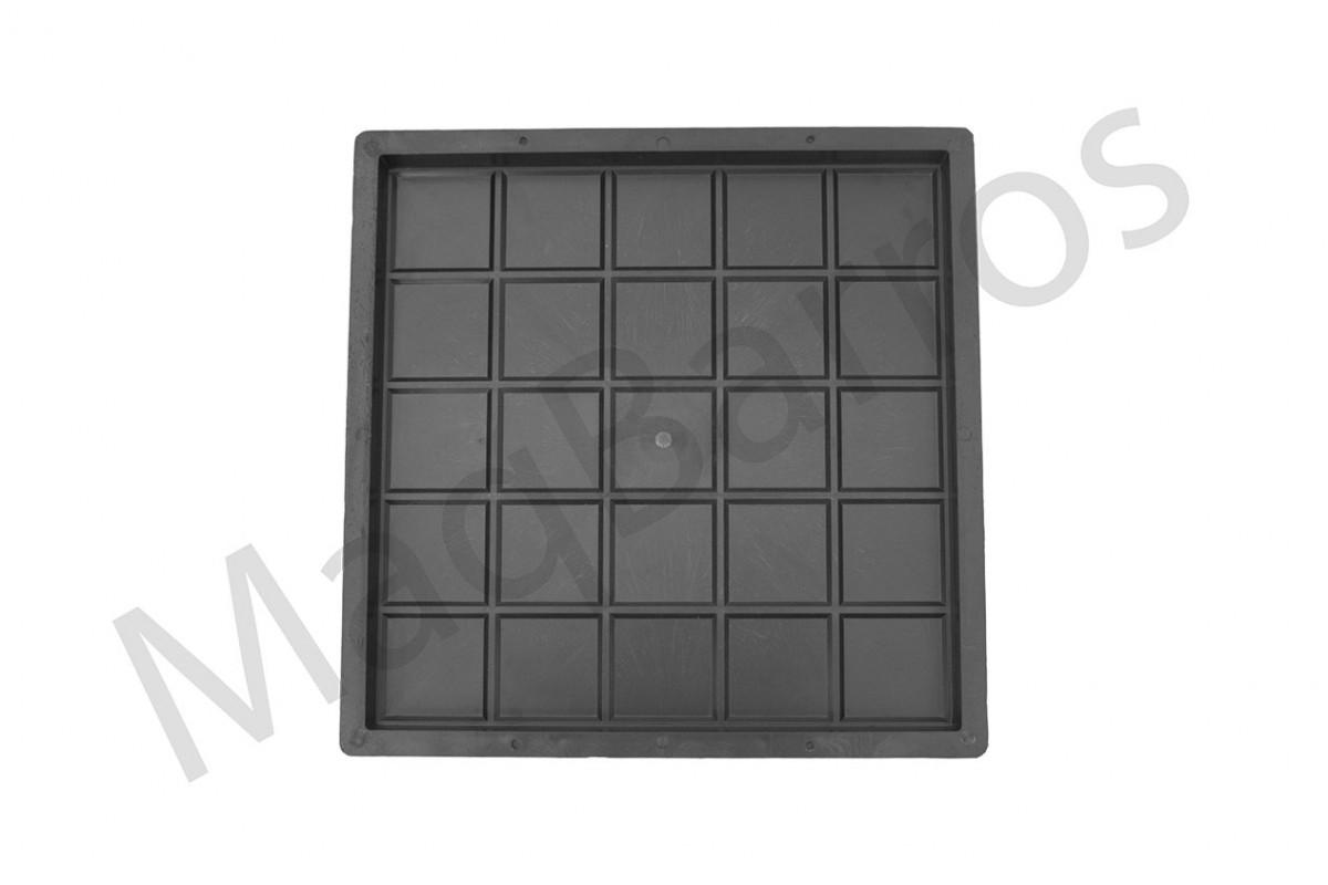 Foto 1 - Ladrilho xadrez 25 quadros