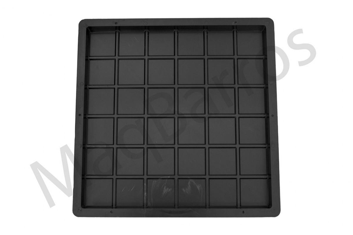 Foto 1 - Ladrilho xadrez 36 quadros - (Embalagens com 10 e 20 un.)