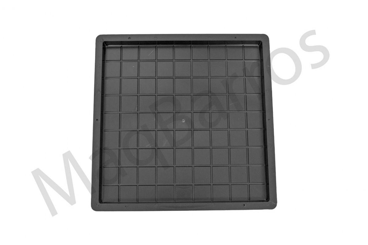 Foto 1 - Ladrilho xadrez 81 quadros - (Embalagem com 10 un.)