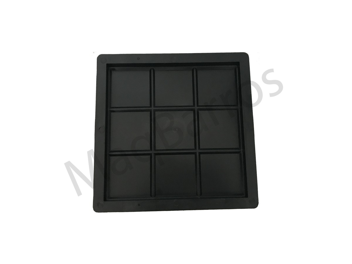 Foto 1 - Ladrilho xadrez 9 quadros