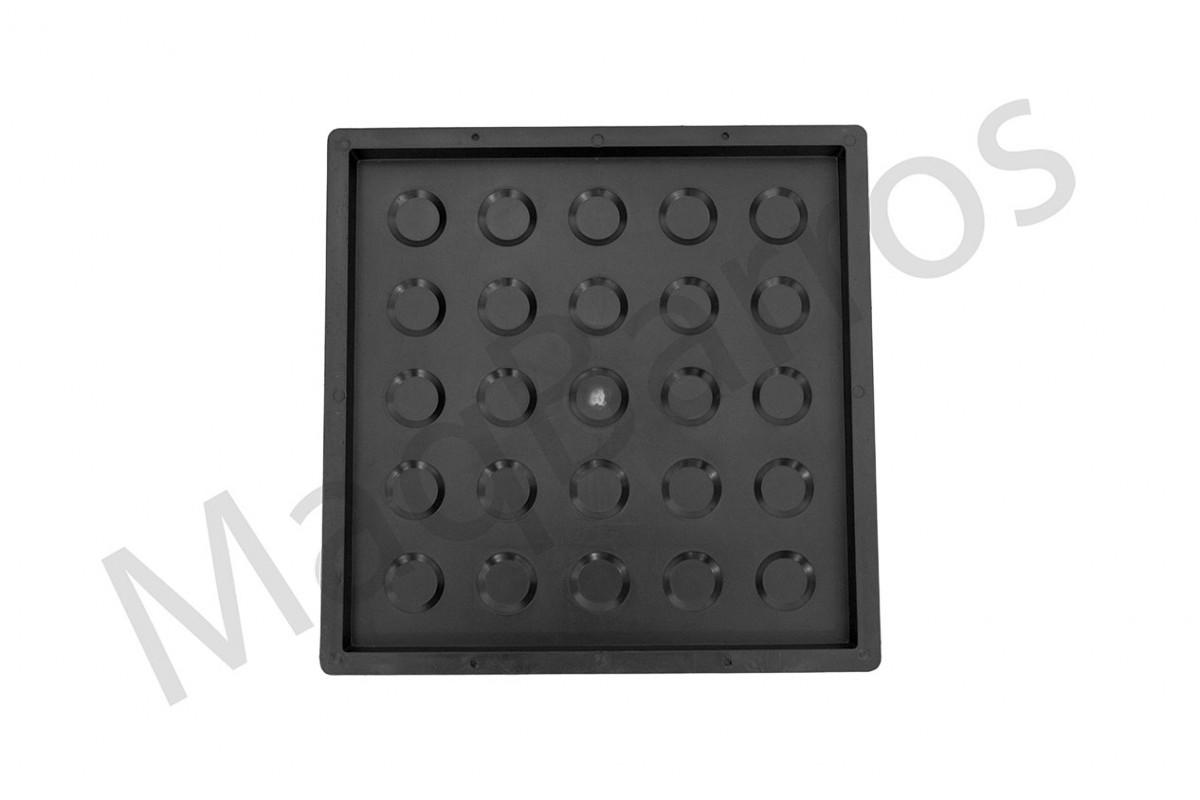 Foto 1 - Piso tátil alerta - (Embalagens com 10, 40 e 50 un.)