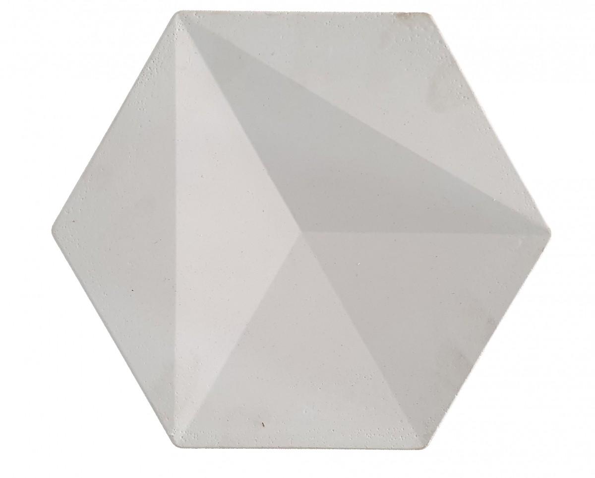Foto2 - Revestimento de parede Sextavado Diamante - (Embalagem com 20 un.)