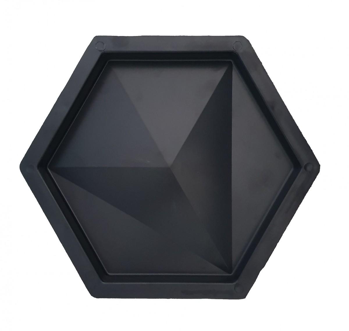 Foto 1 - Revestimento de parede Sextavado Diamante - (Embalagem com 20 un.)