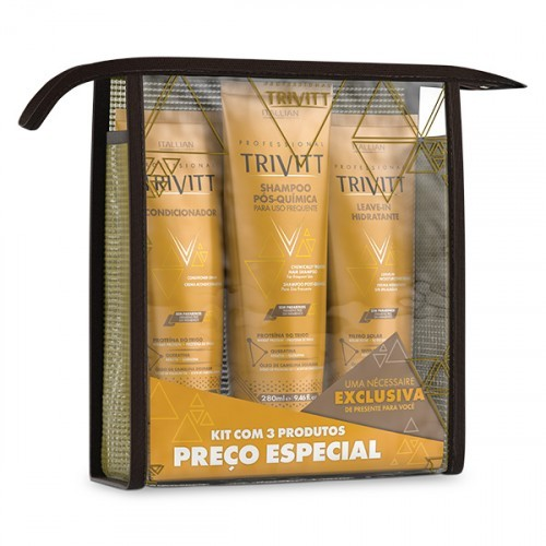 Foto 1 - Kit Home Care Trivitt com Leave-In Hidratante