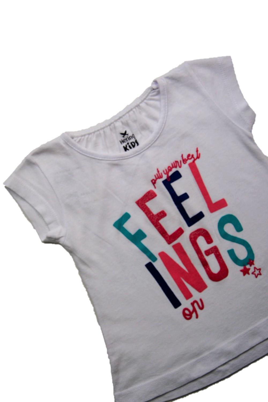 Foto3 - Camiseta Manga Curta   Hering Kids