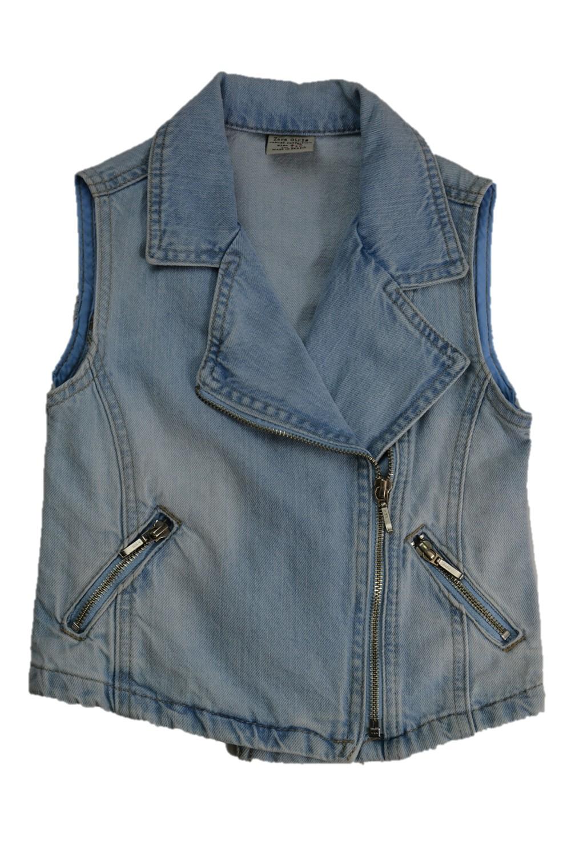 Foto 1 - Colete Jeans   Zara Girls