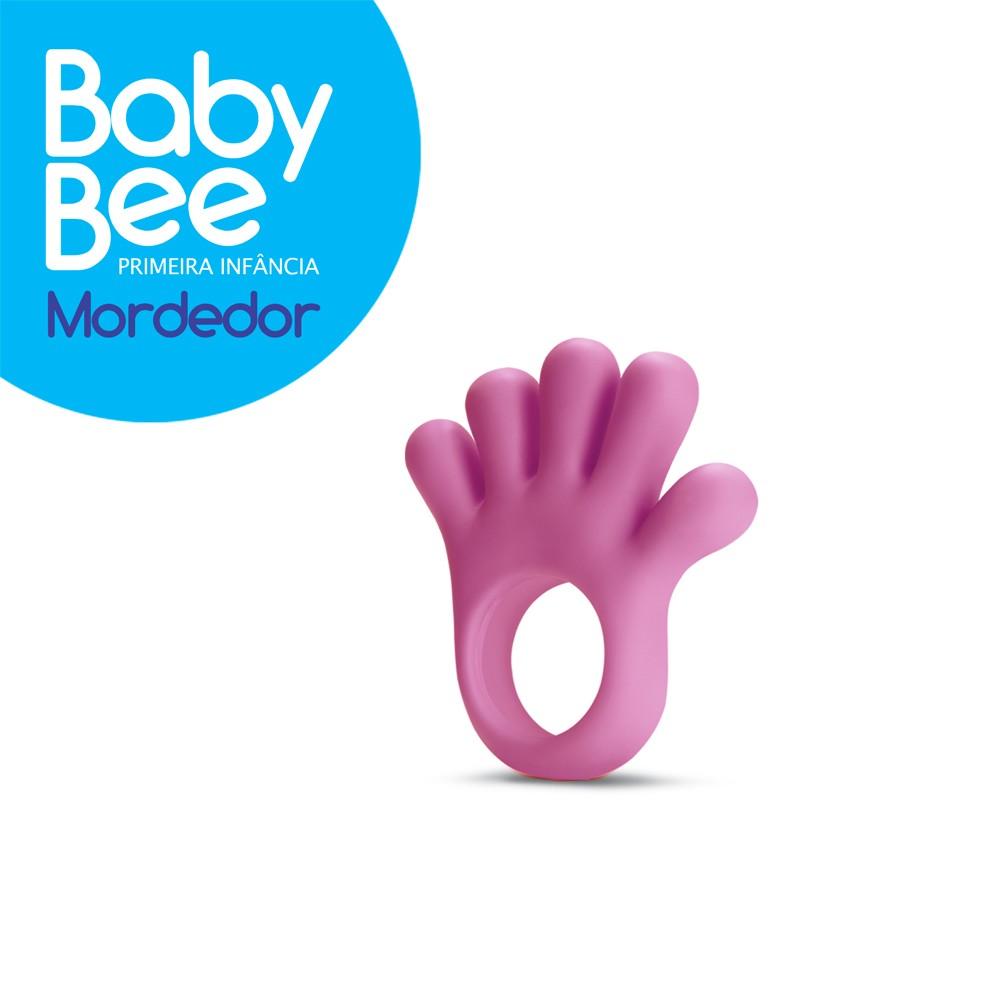 Foto 1 - Mordedor Mão Primeira Infância Baby Bee - NOVA