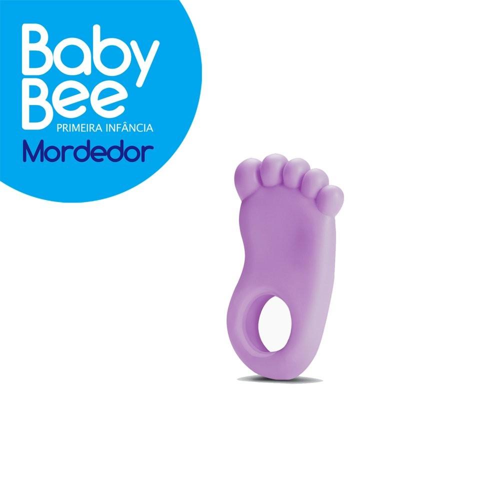 Foto 1 - Mordedor Pé Primeira Infância Baby Bee - NOVA