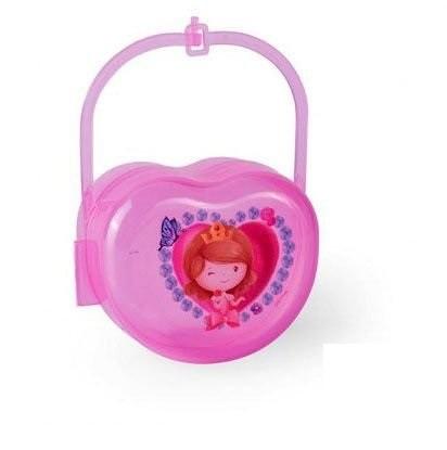 Foto 1 - Porta chupeta Baby Princess - Antibactéria e BPA Free - NOVA