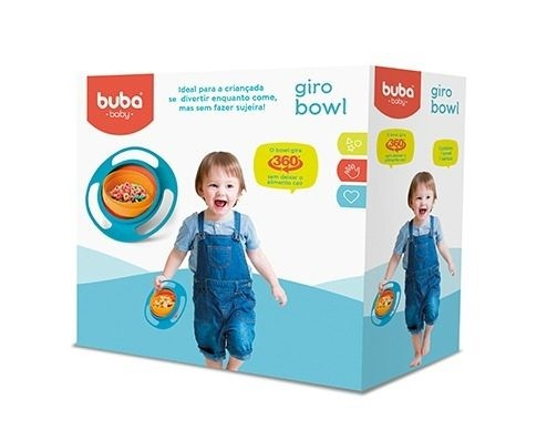 Foto 1 - Pratinho Giro Bowl Baby - Buba   12 + meses - NOVA